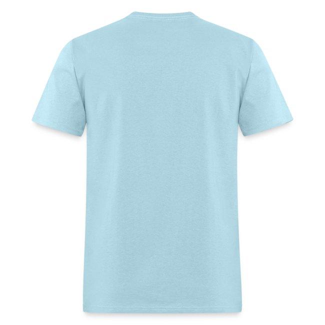 Cockblocking Symbols Chinese Black Men's Standard Weight T-Shirt