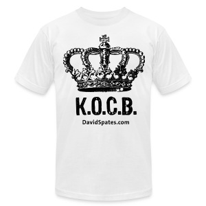 KOCB Crown Black American Apparel - Men's T-Shirt by American Apparel