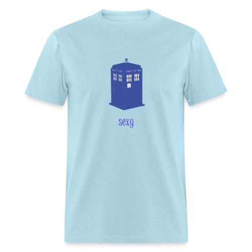 Sexy TARDIS | Robot Plunger - Men's T-Shirt