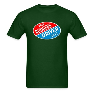Vote Rodgers/Driver 2012 - Men's T-Shirt