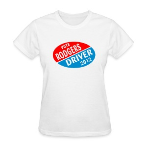 Vote Rodgers/Driver 2012 - Women's T-Shirt