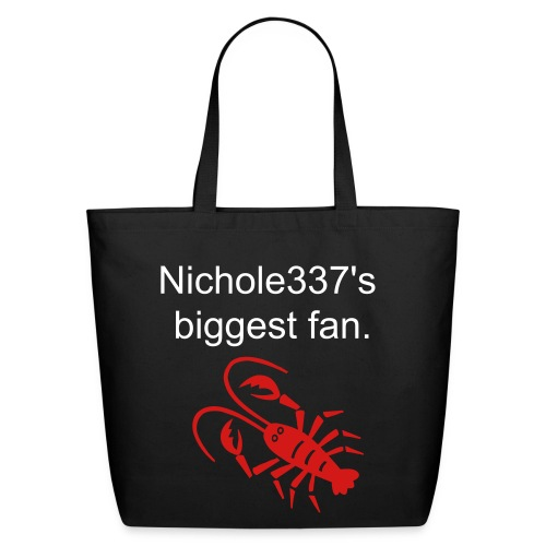 Lobster Nichole337 Biggest Fan Tote - Eco-Friendly Cotton Tote