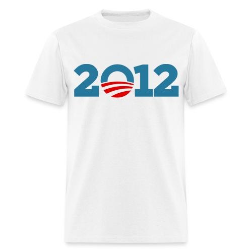 Obama 2012 Tee - Men's T-Shirt