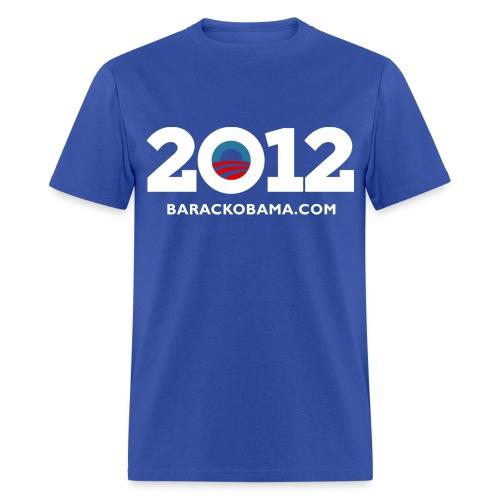 Barackobama.com 2012 Tee - Men's T-Shirt