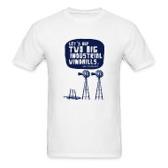 T-Shirts ~ Men's T-Shirt ~ WINDMILLS (white)