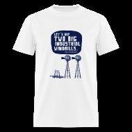 T-Shirts ~ Men's T-Shirt ~ WINDMILLS (white)
