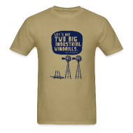 T-Shirts ~ Men's T-Shirt ~ WINDMILLS (khaki)