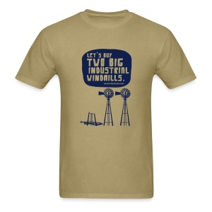 WINDMILLS (khaki) - Men's T-Shirt