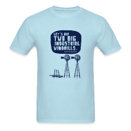 T-Shirts ~ Men's T-Shirt ~ WINDMILLS (light blue)