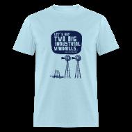 T-Shirts ~ Men's T-Shirt ~ WINDMILLS (light blue)