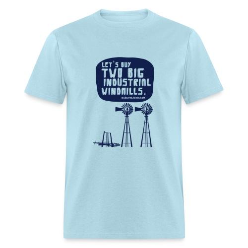 WINDMILLS (light blue) - Men's T-Shirt