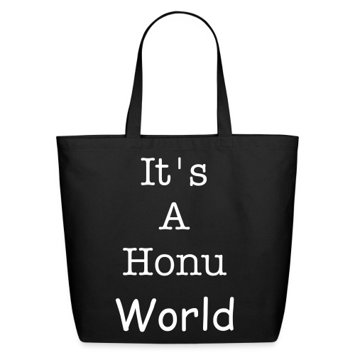 It's A Honu World Bag - Eco-Friendly Cotton Tote