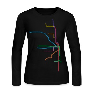 L Lines - Women's Long Sleeve Jersey T-Shirt