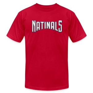 Natinals - Don't Need O's [Back M] - Men's T-Shirt by American Apparel