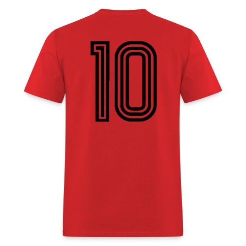 Camisa 10 da Gávea (#10 on the back) - Men's T-Shirt