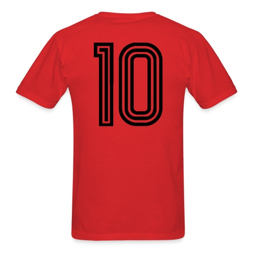 Camisa 10 da Gávea (#10 on the back) - Men's T-Shirt