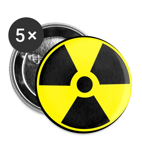 Large Radioactive button - Large Buttons
