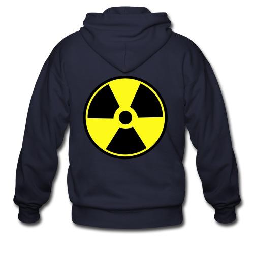 Radioactive Hoodie: Zip-up - Men's Zip Hoodie