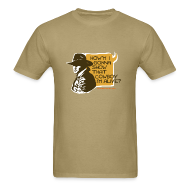 T-Shirts ~ Men's T-Shirt ~ COWBOY