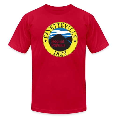 Fayetteville Flag - American Apparel - Men's  Jersey T-Shirt