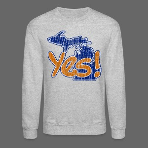 Yes! - Crewneck Sweatshirt