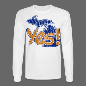 Yes! - Men's Long Sleeve T-Shirt