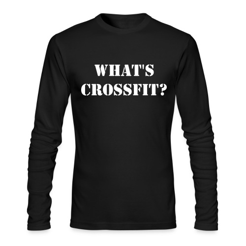 What's CrossFit Tee - Men's Long Sleeve T-Shirt by Next Level