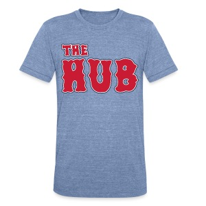The Hub - Unisex Tri-Blend T-Shirt by American Apparel