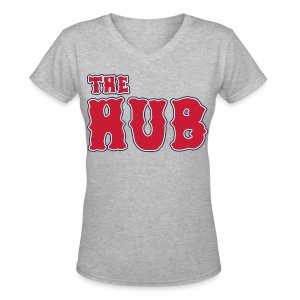 The Hub - Women's V-Neck T-Shirt