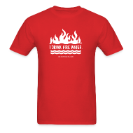T-Shirts ~ Men's T-Shirt ~ FIRE WATER
