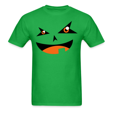 Halloween smiling face  T-Shirts