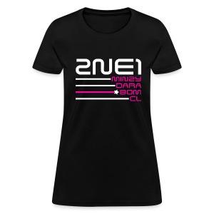 2NE1 Bias BOM 1 - Women's T-Shirt