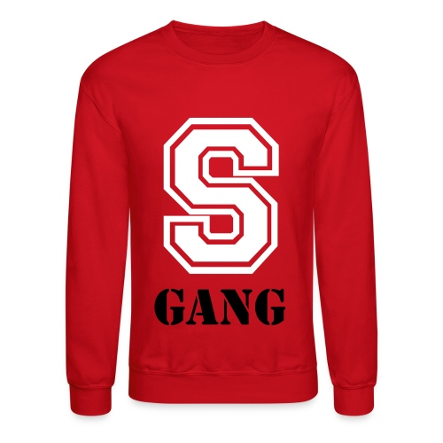 S- GANG Hamptons Edition Red - Crewneck Sweatshirt