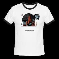 T-Shirts ~ Men's Ringer T-Shirt by American Apparel ~ ALCHEMIST (ringer)
