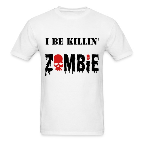 Killin zombies - Men's T-Shirt