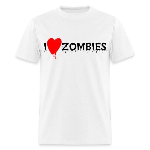 Love zombies - Men's T-Shirt
