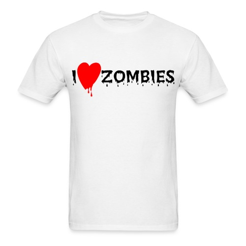 Love zombies - Men's T-Shirt