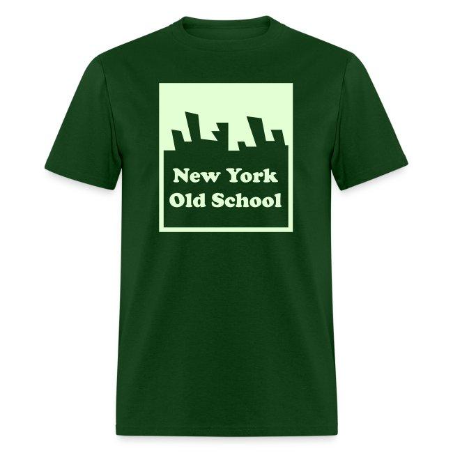 Glow in the dark New York Old School Logo Shirt by New York Old School