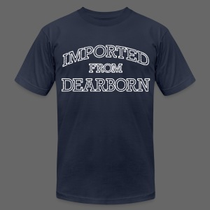 Imported From Dearborn - Men's T-Shirt by American Apparel