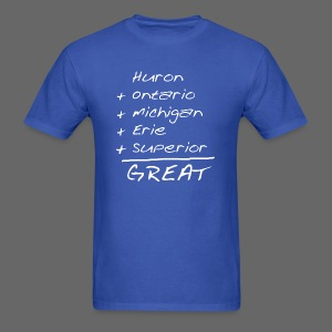 Math is Great - Men's T-Shirt