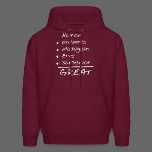 Math is Great - Men's Hoodie