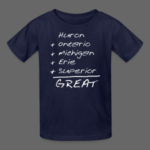 Math is Great - Kids' T-Shirt