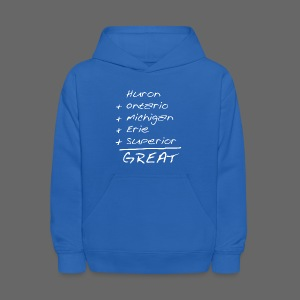 Math is Great - Kids' Hoodie