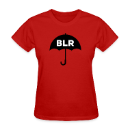 T-Shirts ~ Women's T-Shirt ~ BLACK UMBRELLA (women's tee)