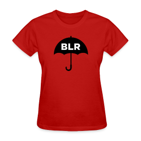 BLACK UMBRELLA (women's tee) ~ 625