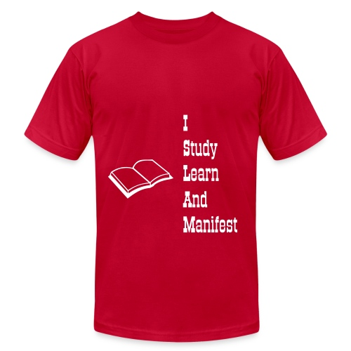 I Study Learn And Manifest Tee - Men's Fine Jersey T-Shirt