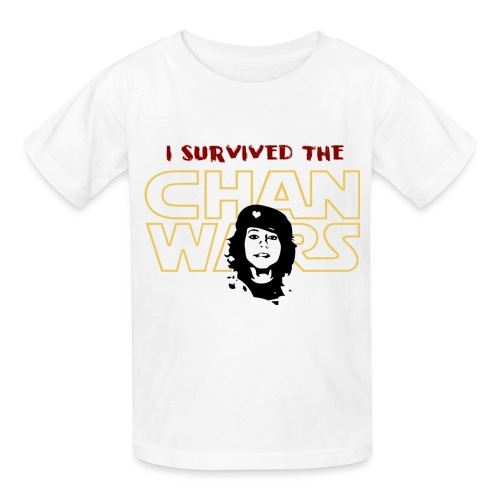 I Survived the Chan Wars - Kids' T-Shirt