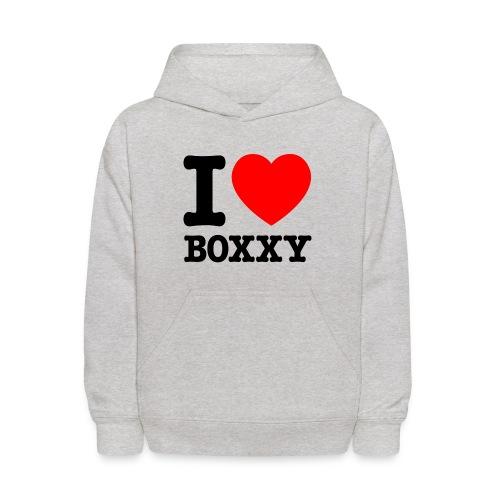 I HEART Boxxy - Kids' Hoodie