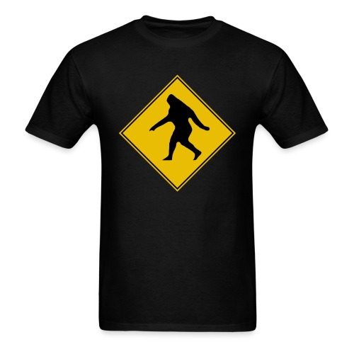 Bigfoot X-ing - Men's T-Shirt