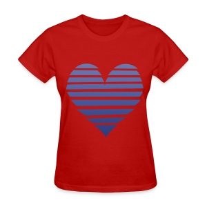 Couple Apparel - Hearts! (Female) - Women's T-Shirt